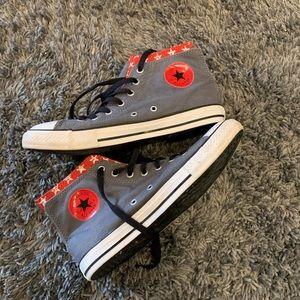 Very Unique Converse Sneakers. Size 6